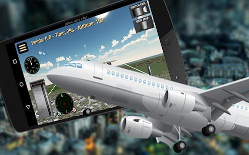 Fly Airplane Pilot Flight 3D - náhled
