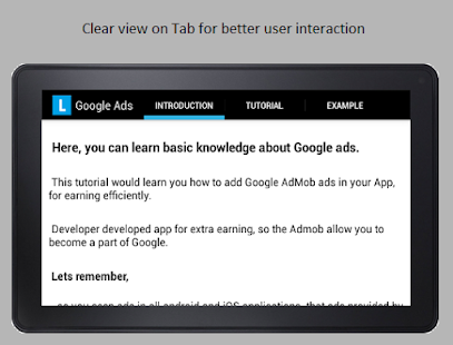 Make Money with Admob screenshot