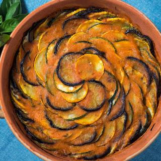 ProvençAl Tian (Eggplant, Zucchini, Squash, and Tomato Casserole) Recipe