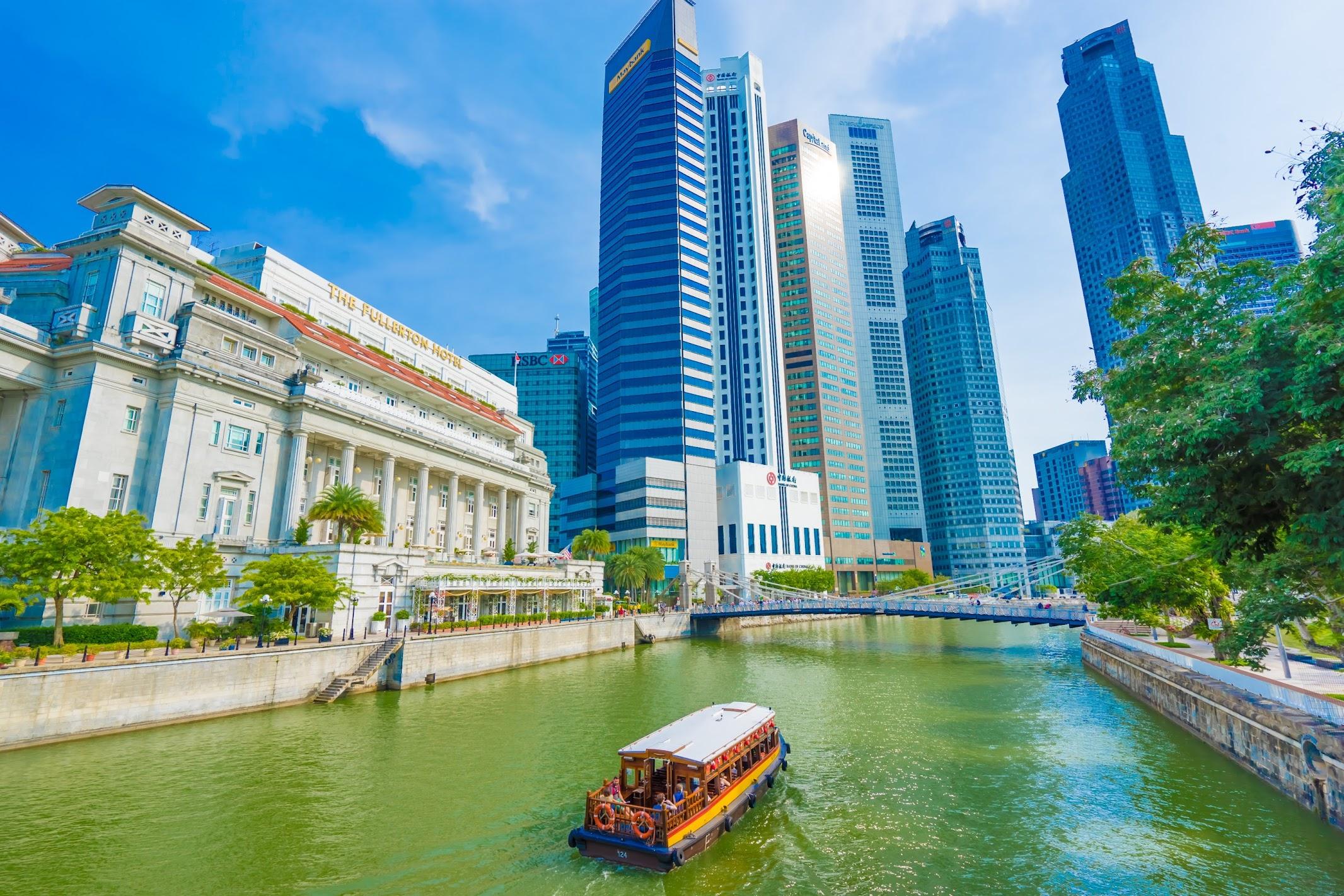 シンガポール フラトン・ホテル リバー・クルーズ2