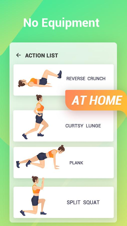 Easy Workout - Abs & Butt Fitness,HIIT Exercises Screenshot 3