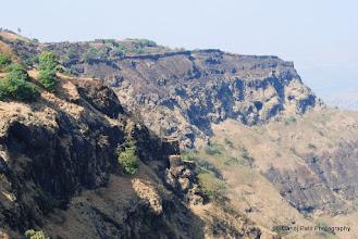 Photo: Fortification on Rajgad... Gunjavane Darvaja from Suvela machi