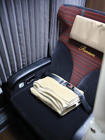 JRバス関東「ドリームルリエ号」 H677-11401 プレシャスクラス シート