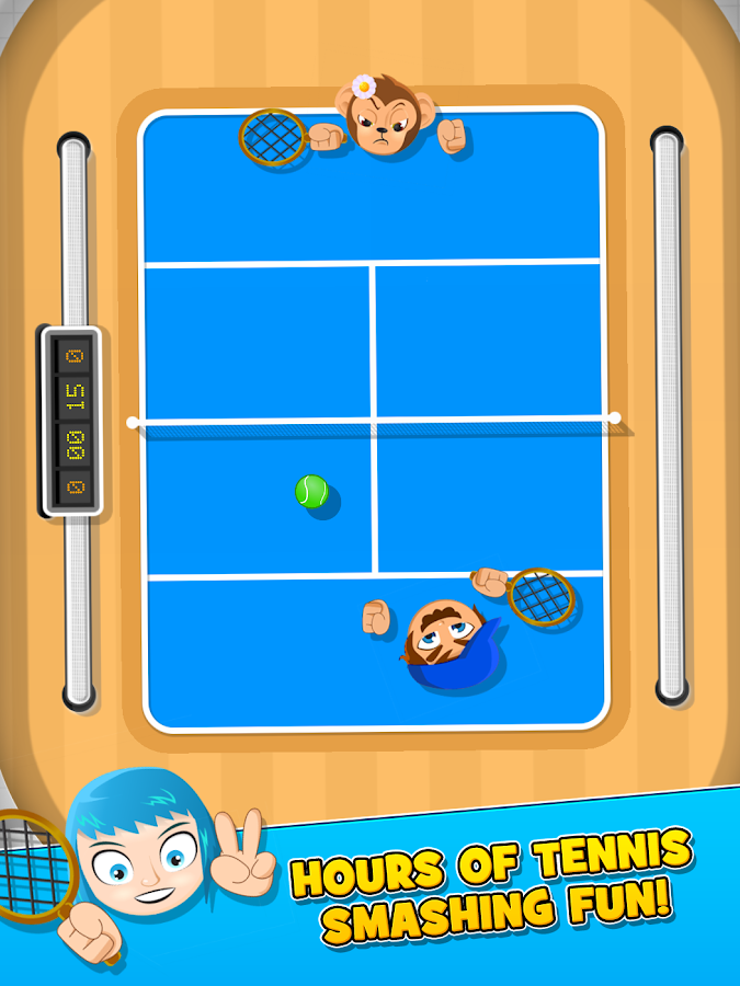 Bang Bang Tennis Game- screenshot