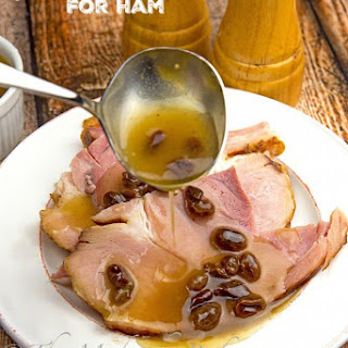Golden Raisin Sauce for Ham