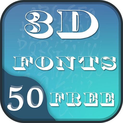 App Insights: 50 3D Fonts Free | Apptopia