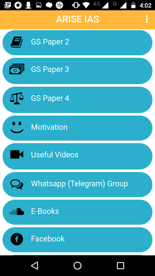 UPSC IAS exam preparation app- screenshot