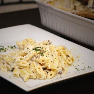 Easy Cheesy Baked Chicken Alfredo