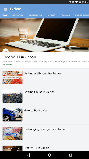 Japan Travel u2013 Route, Map, Guide, JR, taxi, Wi-fi 2.21.1 PC u7528 9
