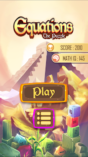 Equations: The Math Puzzle Pro Screenshot