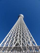 Photo: 2012年10月24日 天高く  スカイツリー 青空に映える。