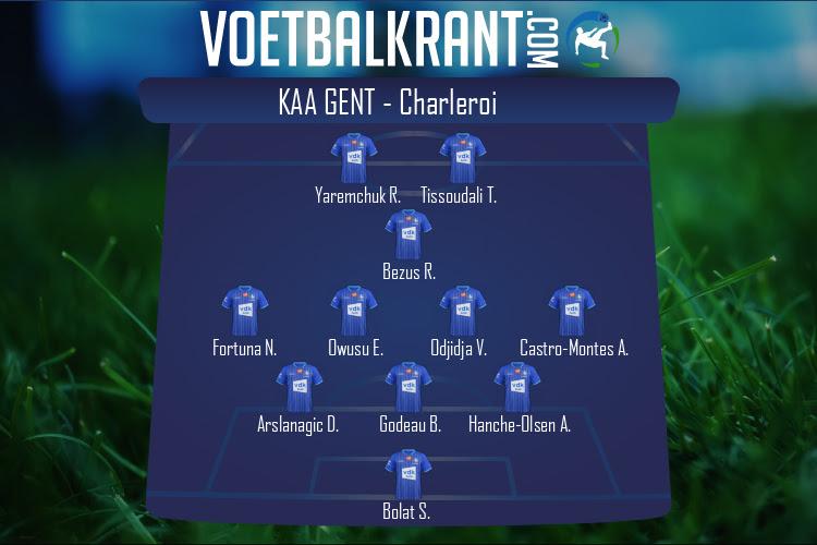 KAA Gent (KAA Gent - Charleroi)
