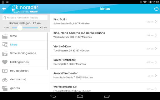 kinoradar - Kino, Filme & mehr 3.2.2 screenshots 18
