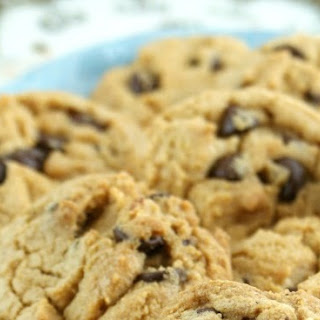 Brown Butter & Cream Cheese Chocolate Chip Cookies.
