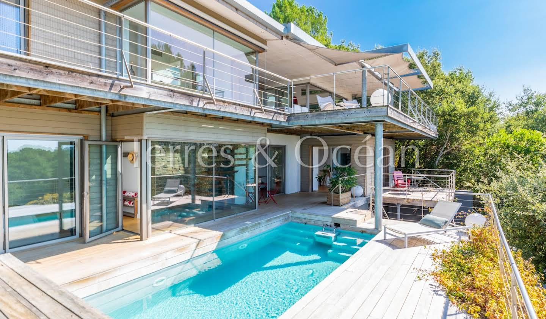 Maison avec piscine et terrasse Seignosse