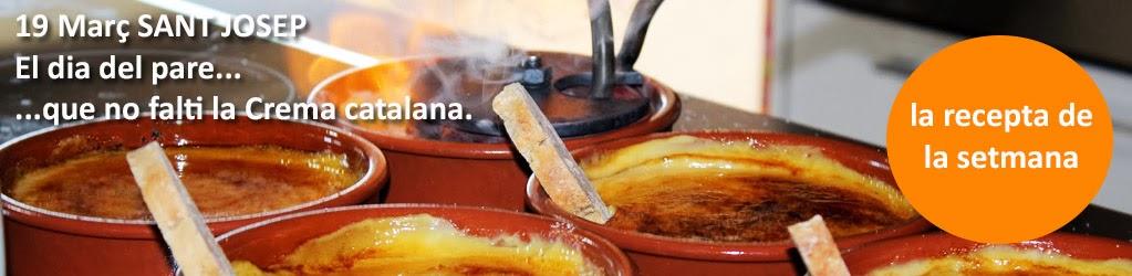 Crema catalana de Sant Josep
