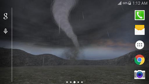 3D超級風暴動態桌布 Free