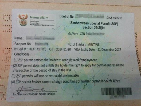 The Zimbabwean Special Permits will be replaced by the Zimbabwean Exemption Permit.