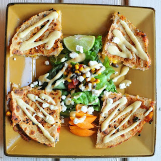 Salmon Quesadilla