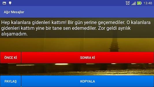 Ağır Mesajlar screenshot 5