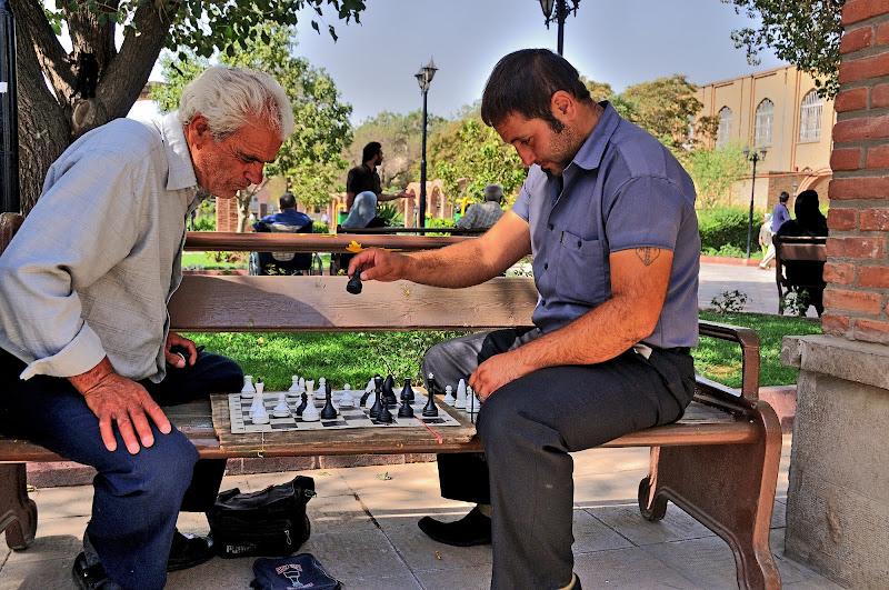 Partita a scacchi di vitomaso