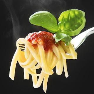 Capellini Pomodoro - Angel Hair Pasta With Tomatoes.