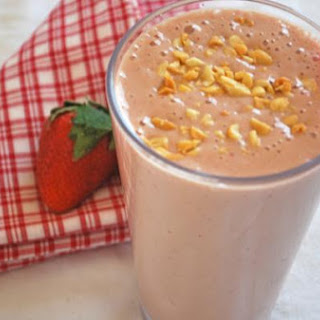 Peanut Butter and Jelly Smoothie.