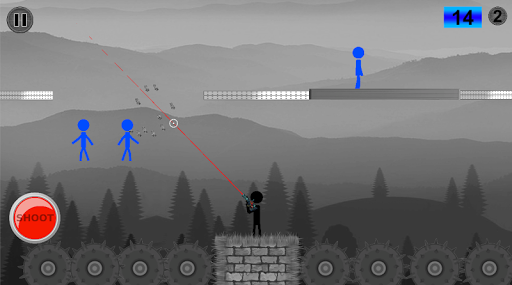 Stickman Shooting - Stickman fight game screenshot 3