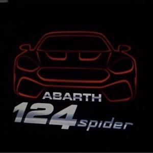 アバルト・124スパイダー  平成30年式  レザーシートナビパッケージのカスタム事例画像 メケメケ   兼業主婦オーナー(^_^)vさんの2019年01月24日21:28の投稿