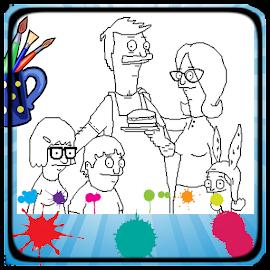Boobs burgers coloring book