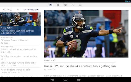 NFL Mobile Screenshot 1
