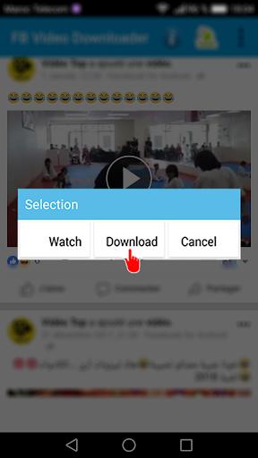 تحميل فيديوهات من الفيس 2018 for PC
