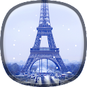 Snow in Paris Live Wallpaper icon
