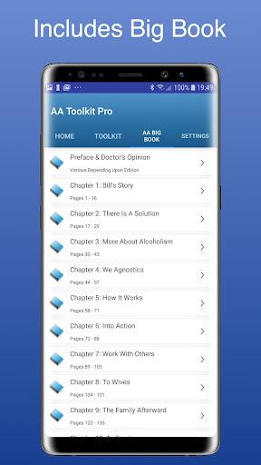 AA 12 Step App - Steps Toolbox screenshot