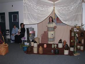 Photo: Fri, Dec 5/08 - the pottery shop, Curtis Hoyt, Heather Hoyt, Nicole Young