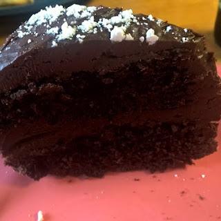 Basic Vegan Chocolate Cake.