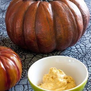 Spicy Pumpkin Cream Cheese Dip.