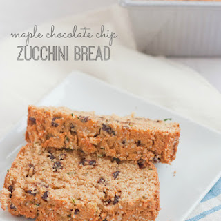 Maple Chocolate Chip Zucchini Bread