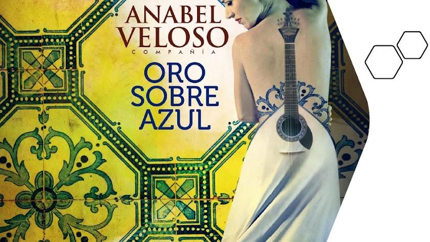 Cartel del nuevo espectáculo de Anabel Veloso, que se estrenará en el marco de la Bienal de Sevilla.