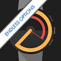 Watch Face Designer - Pujie Black - Wear OS icon