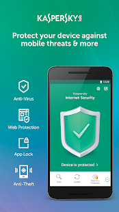 Kaspersky Mobile Antivirus & AppLock- screenshot thumbnail