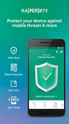 Kaspersky Mobile Antivirus: Web Security & AppLock - screenshot