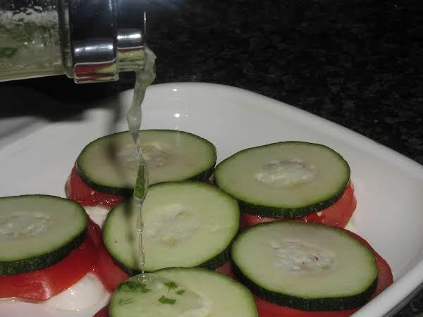 Marinated Zucchini And Bocconcini Salad
