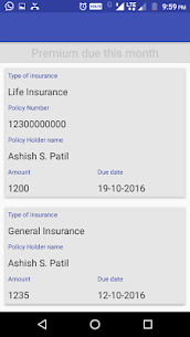 Insurance Policy Reminder App Download For Android 4