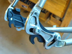 Photo: Pictured with the inserts for singlespeed setup.