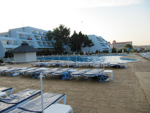 Photo: Day 94 - View of the Pool and the Hotel