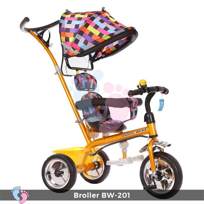 Xe đạp đẩy 3 bánh Broller XD3-201 1