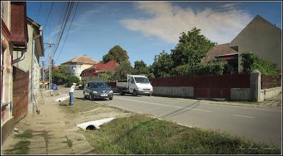 Photo: Str. Salinelor, Nr.15 - casa rurala , curatatul rigolei la casa - 2017.09.08
