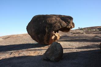 Photo: auf dem Wave Rock