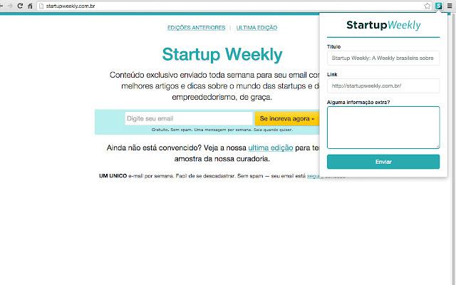 StartupWeekly